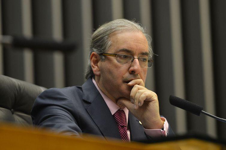 Ex- deputado Eduardo Cunha está preso em Bangu 8, no Rio de Janeiro - Arquivo/Agência Brasil