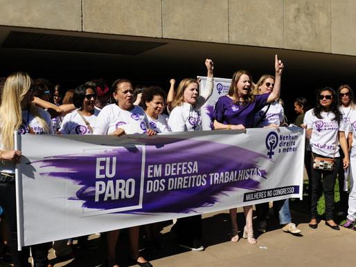 8 de Março: Mulheres do Senado param na defesa de seus direitos