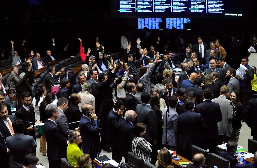 Plenário excluiu previsão de mandatos de cinco anos para cargos eletivos - Luis Macedo/Câmara dos Deputados