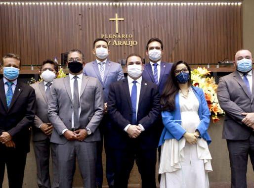 Assembleia Legislativa do Amazonas tem nova Mesa Diretora para o biênio 2021-2022