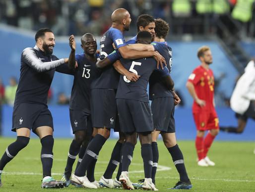França vence Bélgica e vai para a final da Copa