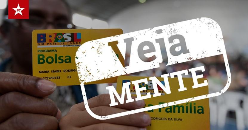 Revista acusa governo de cortar benefícios do Bolsa Família devido ao ajuste fiscal - Foto: PT