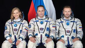 Agência espacial russa (Roscosmos) vai gravar filme no espaço