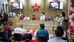 PT Amazonas inaugura nova sede com presença de lideranças políticas
