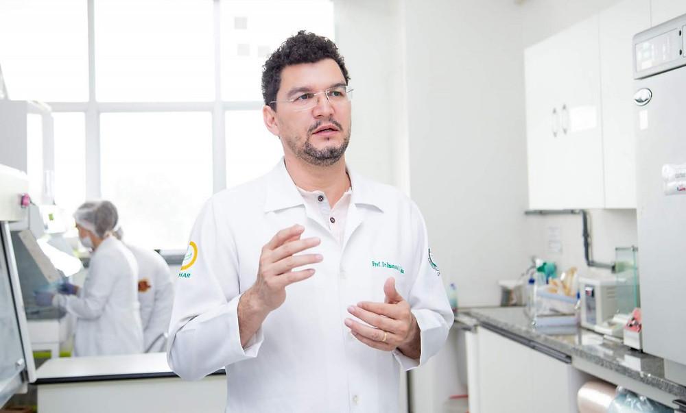 Estudo foi coordenado pelo doutor em Farmácia, Emerson Lima, da Ufam/Foto (Crédito: Érico Xavier)