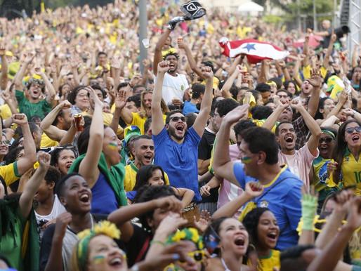 Brasil vence Sérvia sem sustos e vai às oitavas de final