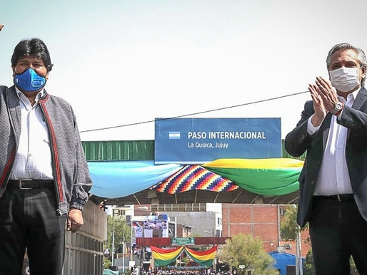 Arce toma posse e Morales retorna à Bolívia conduzido por Alberto Fernández