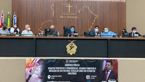 Deputado Sinésio define propostas para impulsionar mercado de Gás Natural Veicular (GNV) no AM
