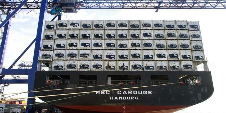 O resultado reflete US$ 160,545 bilhões em exportações e US$ 148,301 bilhões de exportações Foto: APPA