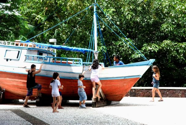 O Memorial Amazônico da Navegação está localizado no Mangal das Garças