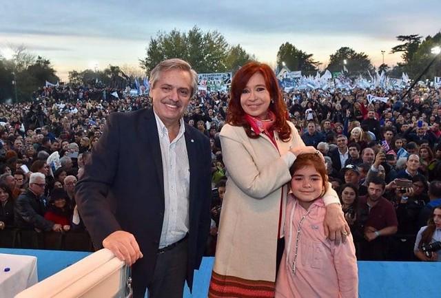 Alberto Fernandez e Cristina Kirchner derrotaram Macri nas primárias argentinas / Reprodução/Instagram