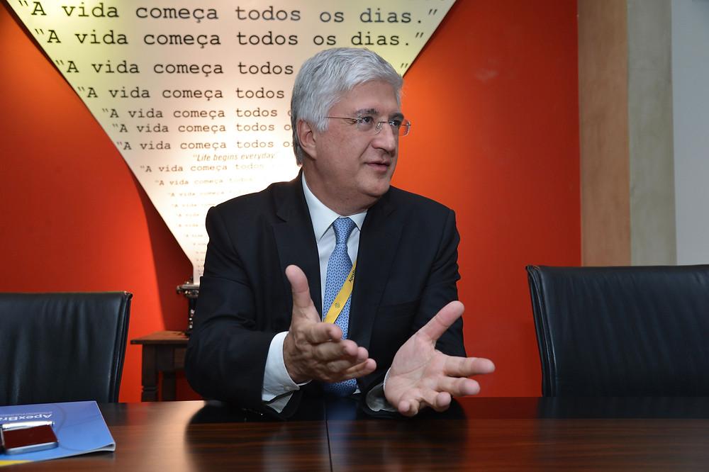 Presidente da Agência Brasileira de Promoção de Exportações e Investimentos (Apex), David Barioni Neto