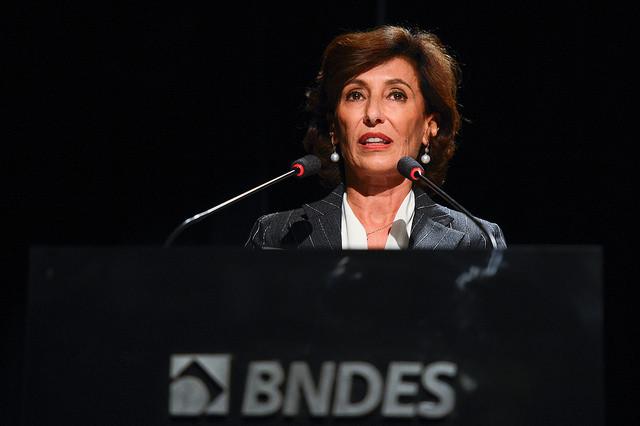 """Maria Silva Bastos Marques, presidenta do BNDES, anunciou novas taxas para empréstimos realizados pela instituição: """"próximas as de mercado"""" / Agência Brasil"""