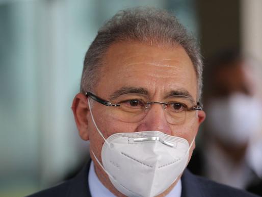 Senado deve ouvir Queiroga no dia 25 sobre vacinas e leitos em UTIs