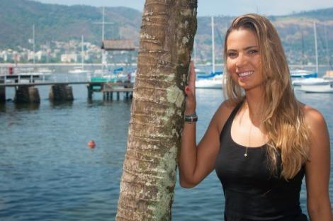 Isabel Swan: primeira medalha da vela feminina brasileira nas Olimpíadas. Ela, juntamente com Fernanda Oliveira, foram bronze na classe 470 em Pequim 2008. Foto: Paulo Márcio Gomide.