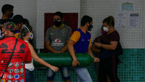 Caos na Pandemia: Sem oxigênio, pacientes morrem asfixiados em Manaus