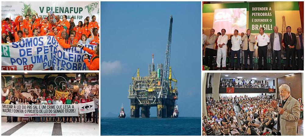 Fotos: Roberto Parizotti/ CUT - Foto: Fernando Frazão/ Agência Brasil - Ricardo Stuckert/ Instituto Lula e Petrobras - Fotos Públicas