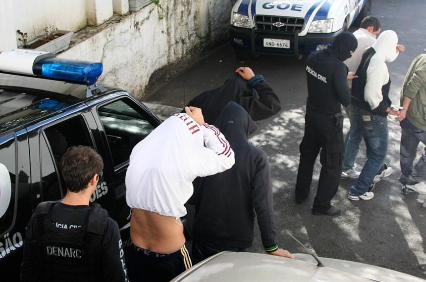 Combate à criminalidade é tema recorrente de propostas apresentadas este ano Giovani Santos/Agência Paraná