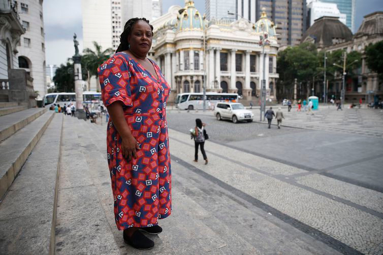 Mônica Francisco é uma das deputadas estaduais negras eleitas pelo PSOLpara aAlerj -Fernando Frazão/Agência Brasil