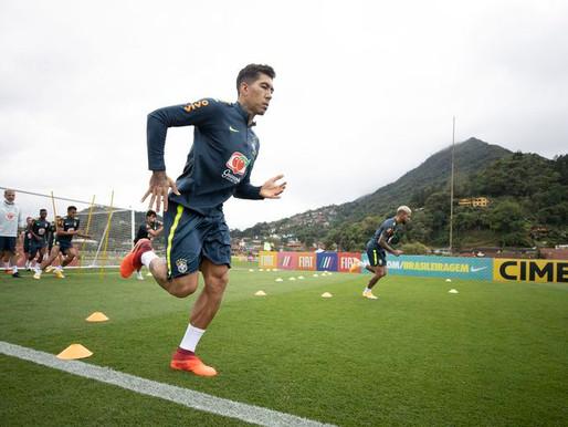 Tite confirma Ederson no gol e explica Firmino na função de Neymar