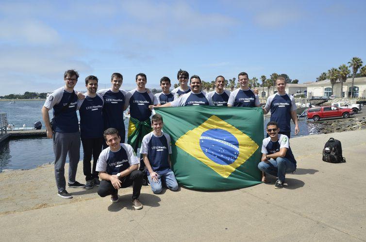 Equipe Nautilus representar o Brasil na Robosub 2019, nos Estados Unidos - Divulgação/Pacto Comunicação/Assessoria de Imprensa