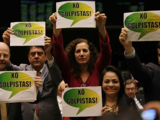 Recado aos golpistas: democracia não se constrói em gabinetes e Brasil não se governa de salinha