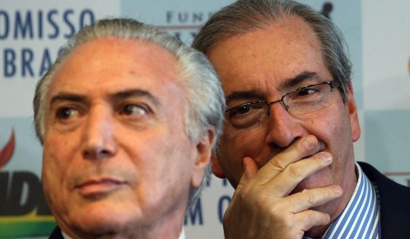 Escárnio: golpe vai evitar cassação de Cunha por corrupção e lavagem de dinheiro