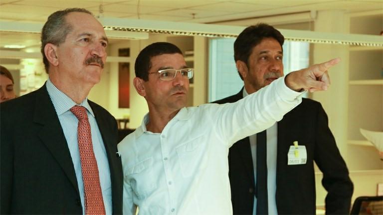 Ministro Aldo Rebelo cumpre agenda com representantes do Google América Latina, em Belo Horizonte [- MCTI/Divulgação