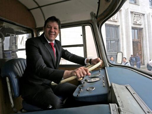 Haddad: Transporte gratuito a idosos e estudantes custa R$ 2 bi; Passe Livre custaria R$ 8 bi