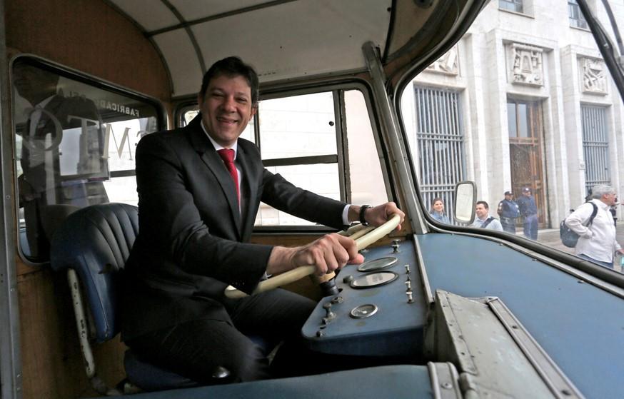prefeito de São Paulo, Fernando Haddad (PT) - Foto: FábioArantes Ascom