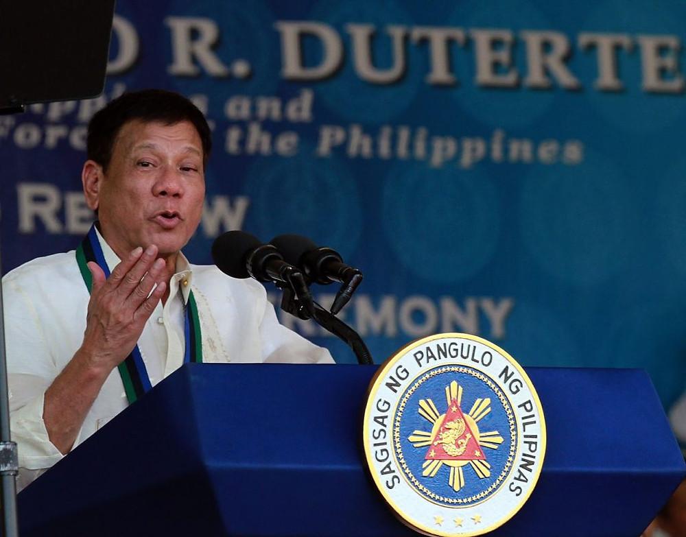 O presidente das Filipinas, Rodrigo Duterte. Foto: Wikimedia Commons