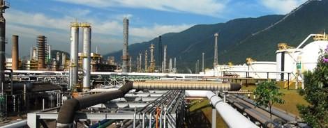 Medidas permitiu reduzir em 12,5% a relação entre a quantidade de água consumida e o volume de petróleo processado Divulgação/Petrobras
