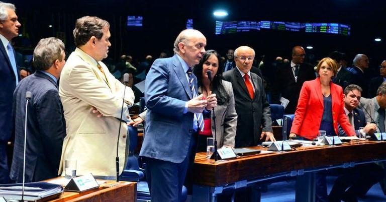 Parlamentares discutiram propostas de mudanças em penas de jovens infratores Ana Volpe/Agência Senado