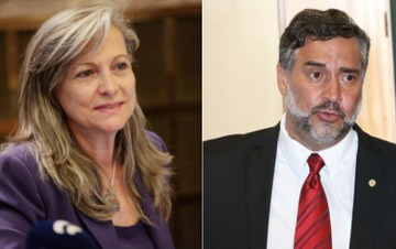 Maria Lucia Fattorelli e Paulo Pimenta: interesse do governo em turbinar a inflação para manter a política do BC -