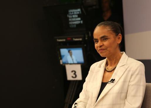 Marina Silva anuncia apoio a Haddad no 2º turno