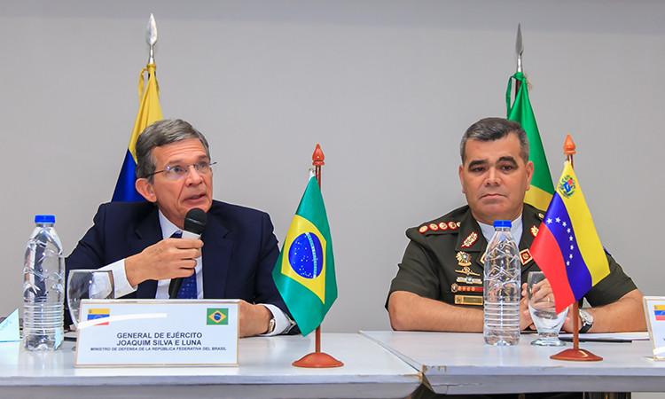 Ministros da Defesa do Brasil e da Venezuela mantém diálogo aberto |Foto: Alexandre Manfrim/MD