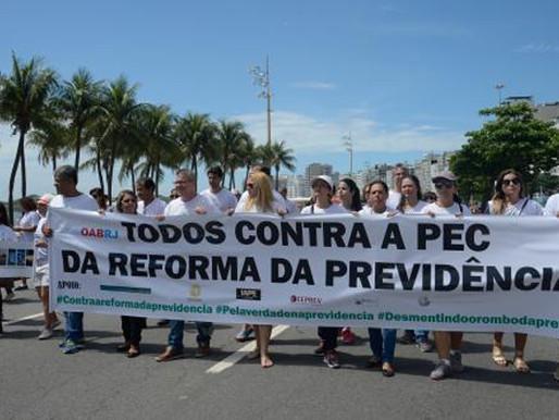 """OAB realizará ato por """"reforma justa para Previdência"""" e quer suspender PEC"""