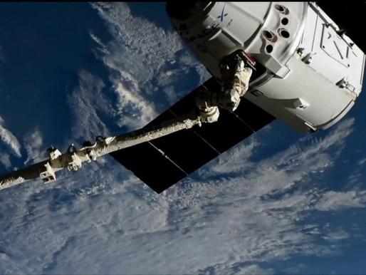 SpaceX Dragon foi instalada no módulo Harmony da Estação Espacial Internacional