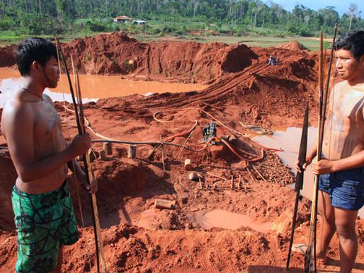 Bolsonaro força a porteira para o garimpo em terras indígenas