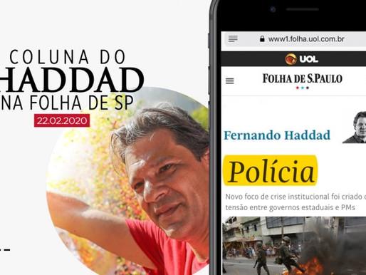 Fernando Haddad: Polícia