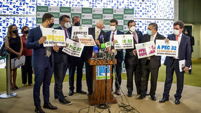 PEC 32: oito partidos fecham questão contra destruição do Estado
