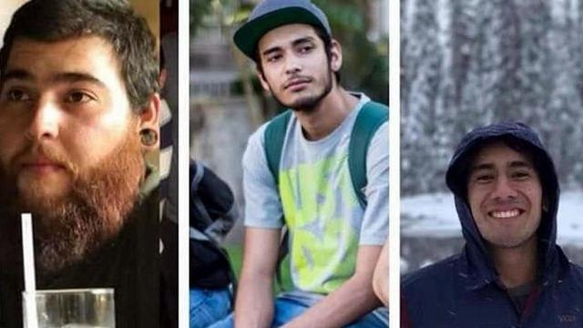 Os três estudantes de cinema foram sequestrados no dia 19 de março / Reprodução