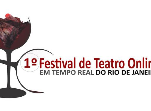 Festival de Teatro Online do Rio terá mostra competitiva pelo Zoom