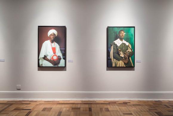Em cartaz até 26 de março no CCBB do Rio de Janeiro, exposição Ex África é composta por mais de 80 obrasJoana França/Divulgação