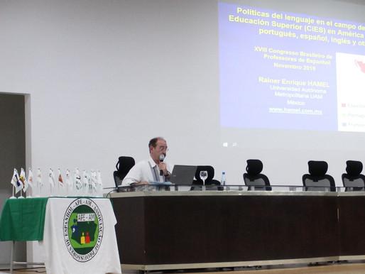 Palestrante internacional abre o 18º Congresso Brasileiro de Professores de Espanhol na Ufam