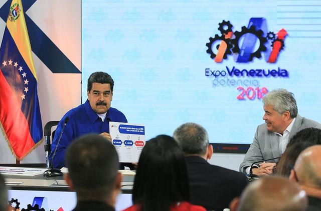 Durante a exposição agrícola Expo Potência Venezuela, Nicolás Maduro anuncia reajuste salarial para trabalhadores / Imprensa Presidencial