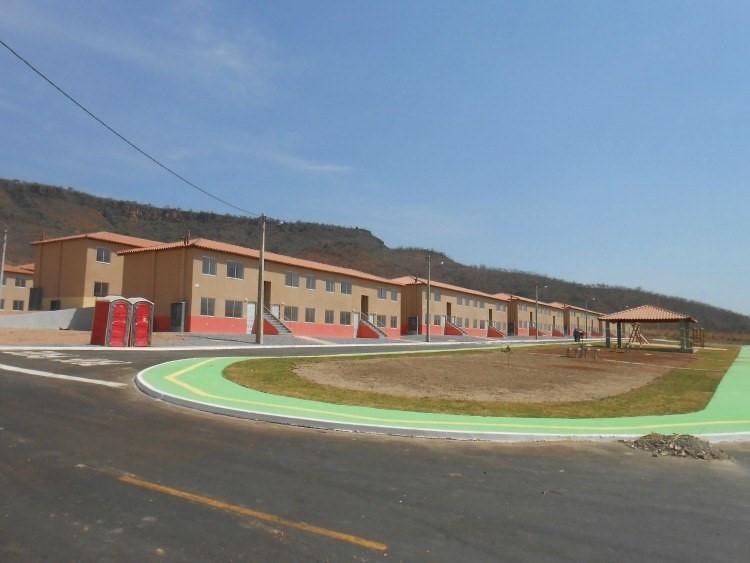 Casas possuem área privativa de 41,44m², divididos em 2 quartos, com sala, cozinha, banheiro e área de serviço Divulgação/EBC