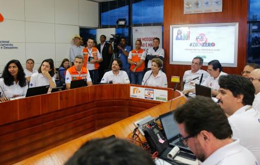 Zika: Dilma diz que ação no país foi um sucesso, mas é só o início