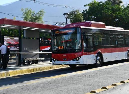 Ônibus elétricos colocam Chile no caminho de um futuro mais sustentável