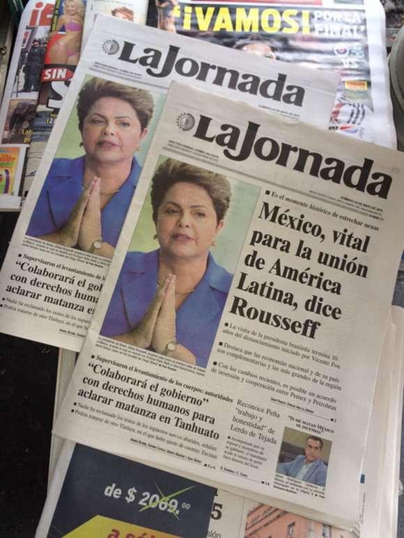 México é vital para unidade da América Latina, diz presidenta Dilma em entrevista a jornal La Jornada. Foto: Divulgação/PR